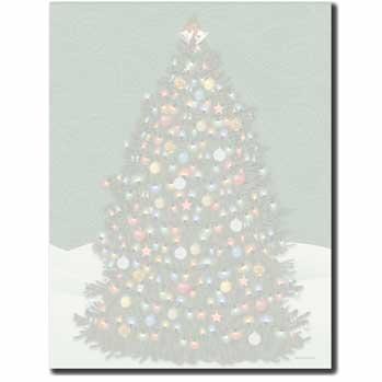 O'Christmas Tree Letterhead