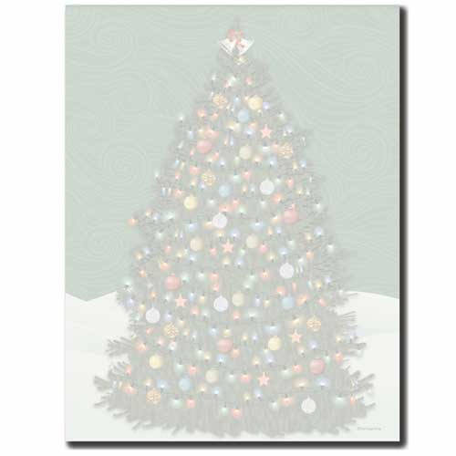 O'Christmas Tree Letterhead