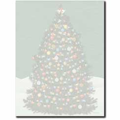 O'Christmas Tree Letterhead - 25 pack
