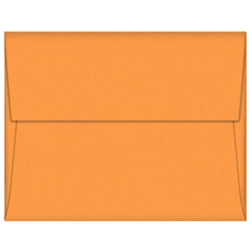Orange Fizz A-7 Envelopes - 25 Pack