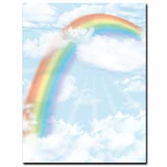 Over the Rainbow Letterhead - 100 pack