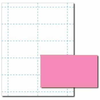 Pulsar Pink Business Cards