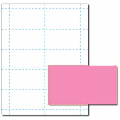 Pulsar Pink Business Cards - 250 Pack