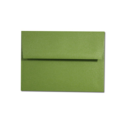 Palm Tree Green A-2 Envelope - 50 Pack
