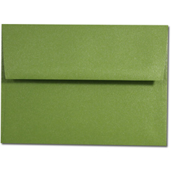 Palm Tree Green A-9 Envelope - 25 Pack
