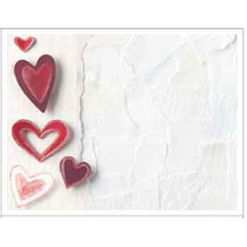 Paper Hearts Post Cards