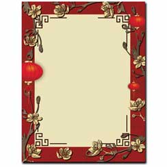 Paper-Chinese-Lanterns-Letterhead-Paper