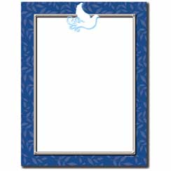 Peace Dove Letterhead - 25 pack