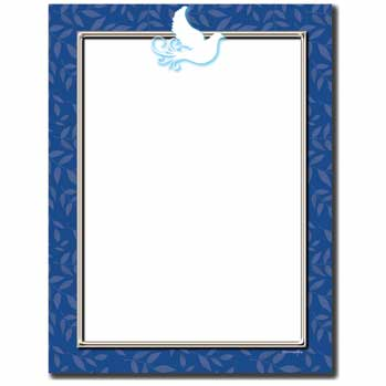 Peace Dove Letterhead