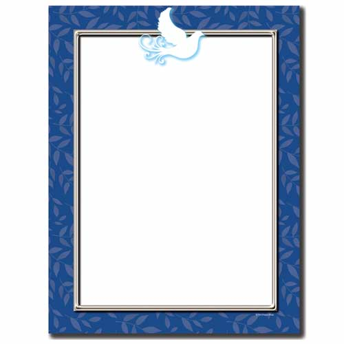 Peace-Dove-Holiday-Letterhead-Paper
