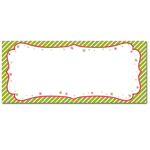 Peppermint Twist Envelopes
