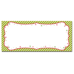 Peppermint Twist Envelopes - 25 Pack