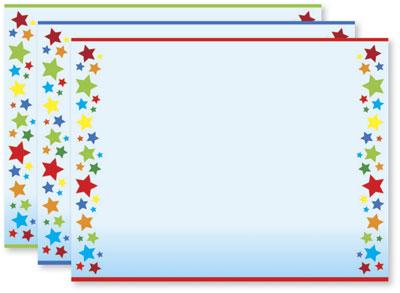 Rainbow Stars Certificates