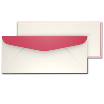 Red Border Envelopes