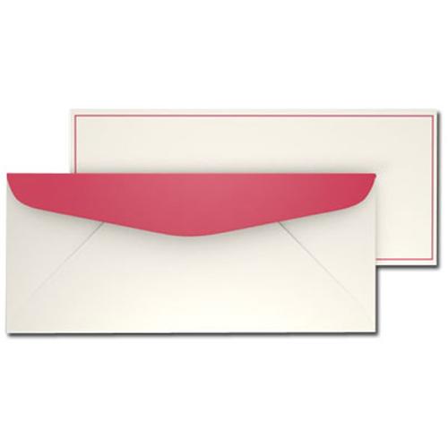 Red Border Envelopes