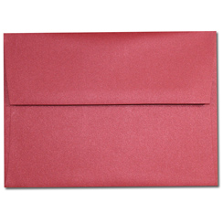 Red Lacquer A-7 Envelopes - 25 Pack