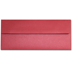 Red Lacquer #10 Envelopes - 50 Pack