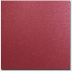 Red Lacquer Cardstock - 50 Pack