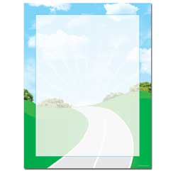 Road Trip Letterhead - 100 pack