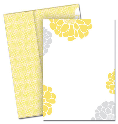 Sunny Flowers Invitation