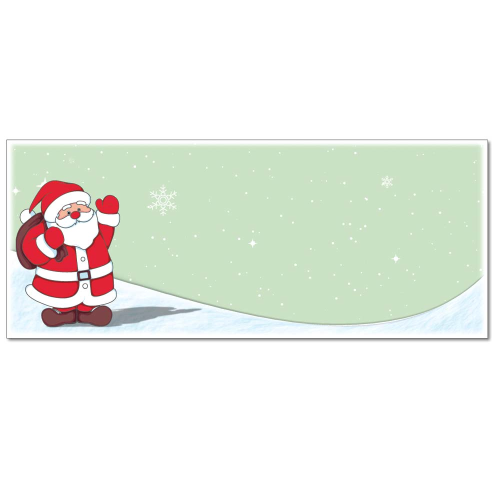 Santa Claus Envelope