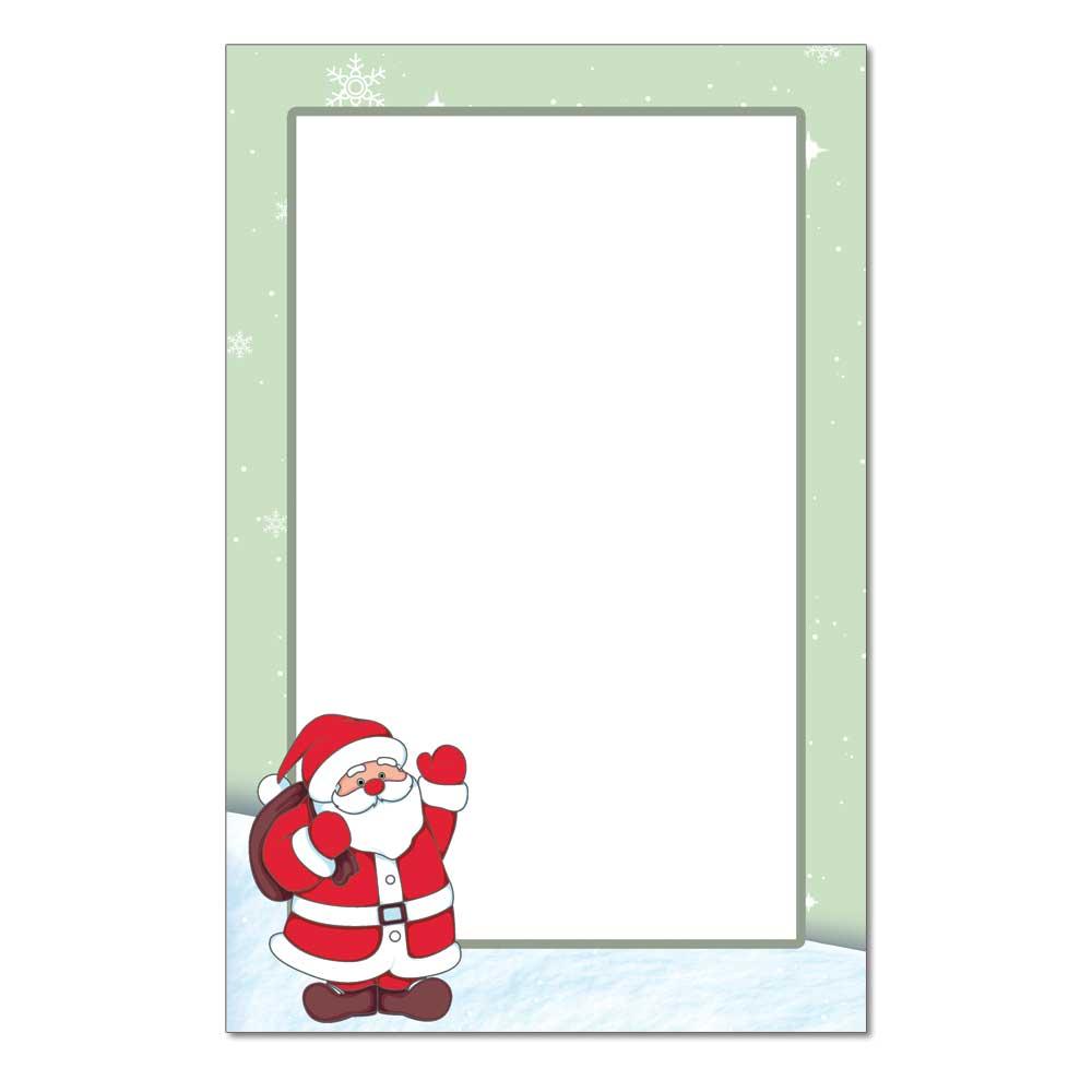 Santa Claus Jumbo Card, 48pk