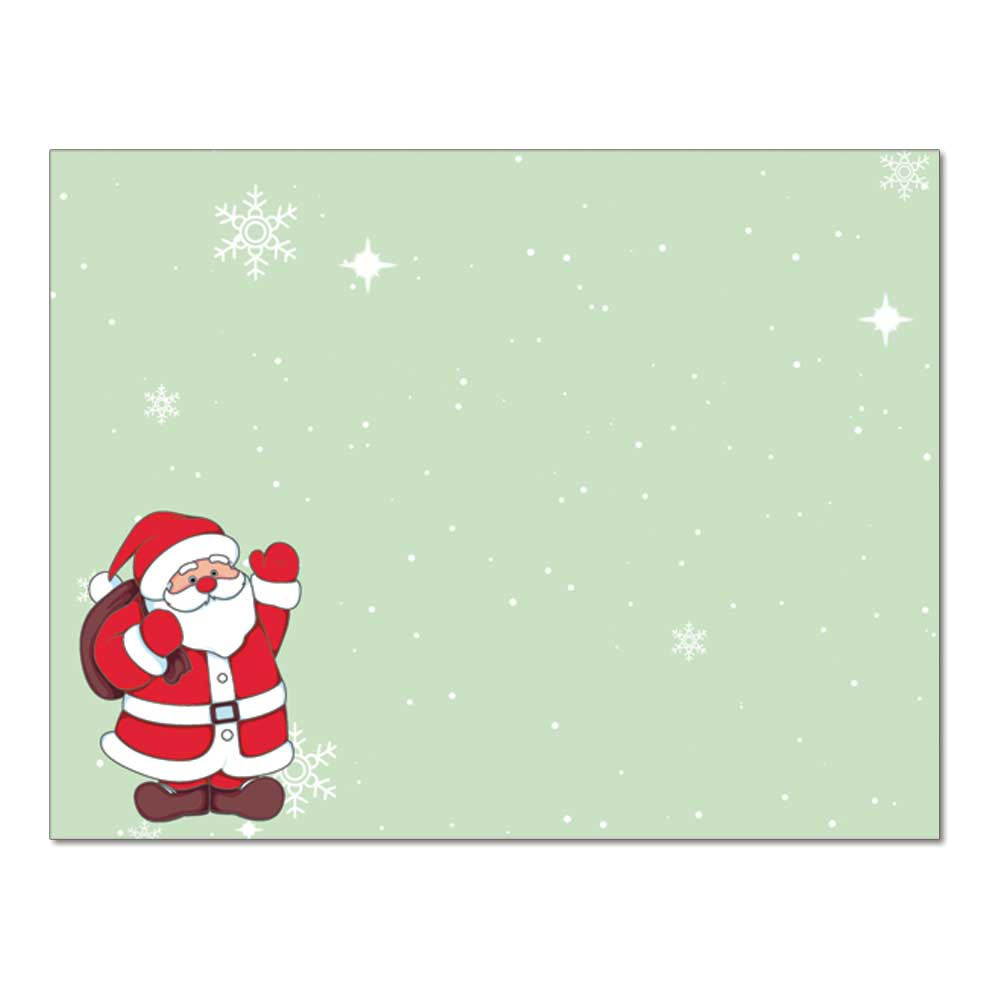 Santa Claus Post Card, 48pk