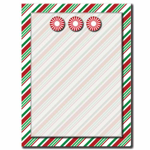 Seasonal-Stripes-Candy-Cane-Letterhead-Paper