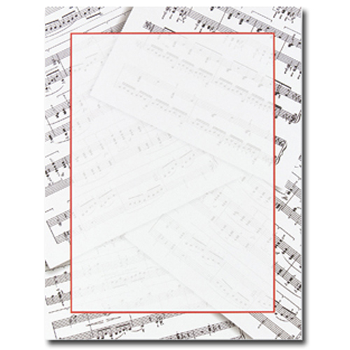 Sheet Music Letterhead