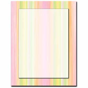 Sherbert Stripes Letterhead