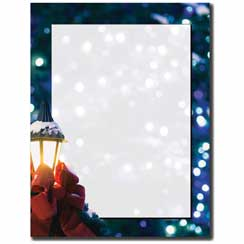 Silent Night Letterhead - 100 pack
