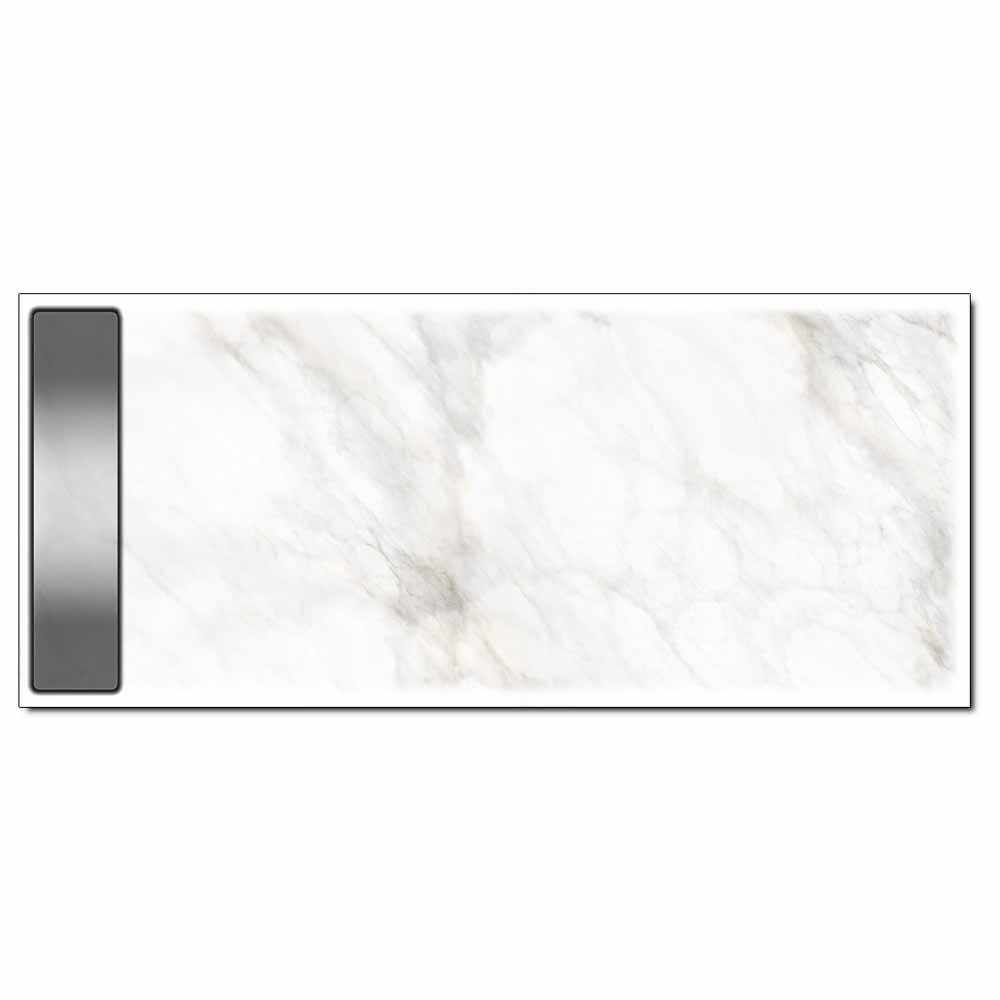 Silver Marble Envelope