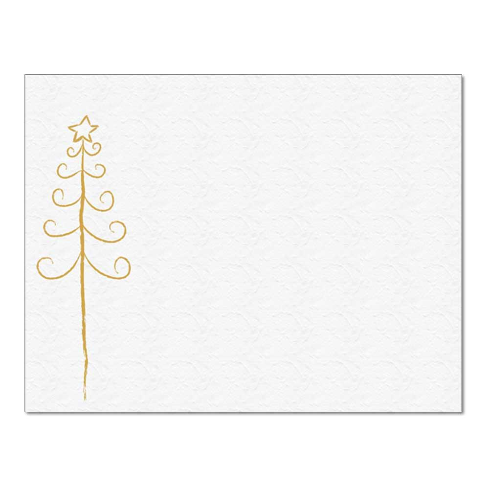 Simple Tree Post Card, 48pk