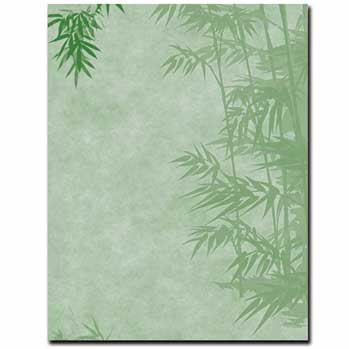 Simple Bamboo Letterhead