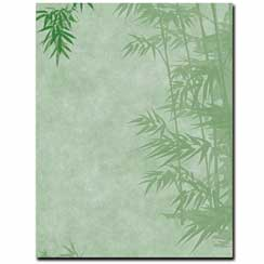 Simple Bamboo Letterhead - 25 pack