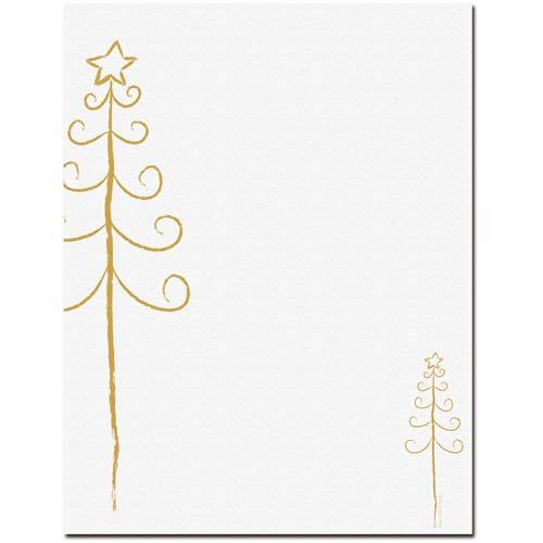 Simple-Christmas-Tree-Letterhead-Paper