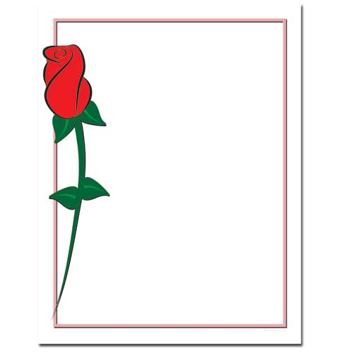 Red-Rose-Paper-Letterhead
