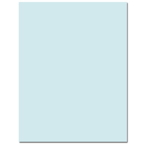 Sno Cone Cardstock - 50 Pack
