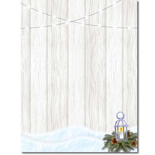 snowdrift fence stationery
