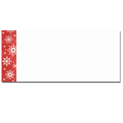 Snowy Flakes Envelopes - 40 pack