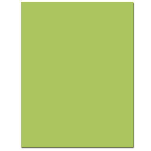 Sour Apple Cardstock - 25 Pack