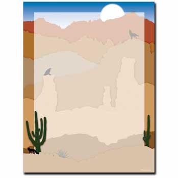 Southwest Sunrise Letterhead