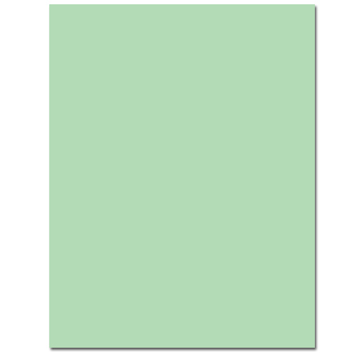 Spearmint Letterhead - 100 Pack