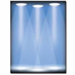 Spotlight Letterhead - 25 pack
