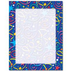 Star Confetti Letterhead
