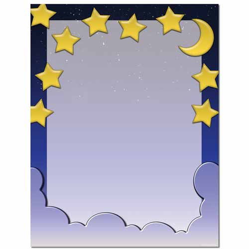 Starry Night Letterhead
