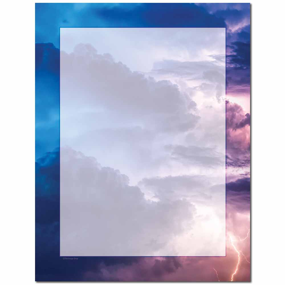 Stormy Letterhead - 100 pack
