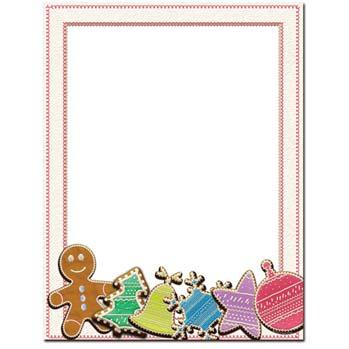 Sugar Cookies Letterhead