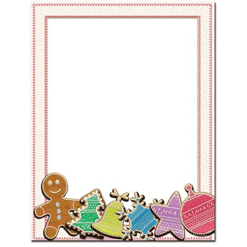 sugar cookie letterhead stationery