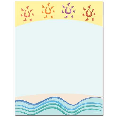 Summer-Suns-Beach-Letterhead-Paper